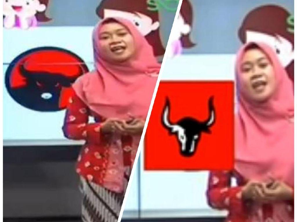 Perbedaan Gambar Sila Keempat Pancasila di Belajar Daring TV Lokal Surabaya