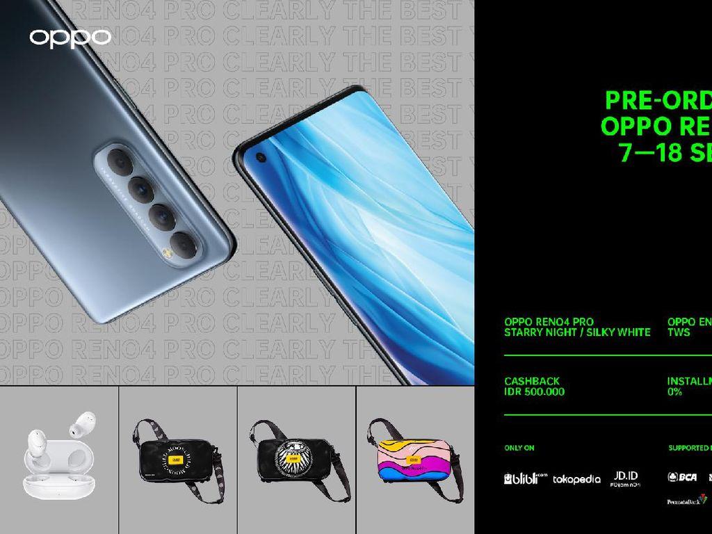 Gaet Niki Zefanya, OPPO Reno4 Pro Bidik Pasar Smartphone Milenial