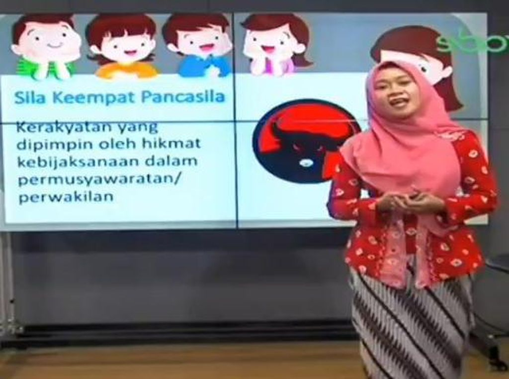 Polisi Belum Dilapori Soal Viral Logo PDIP Jadi Lambang Sila Keempat