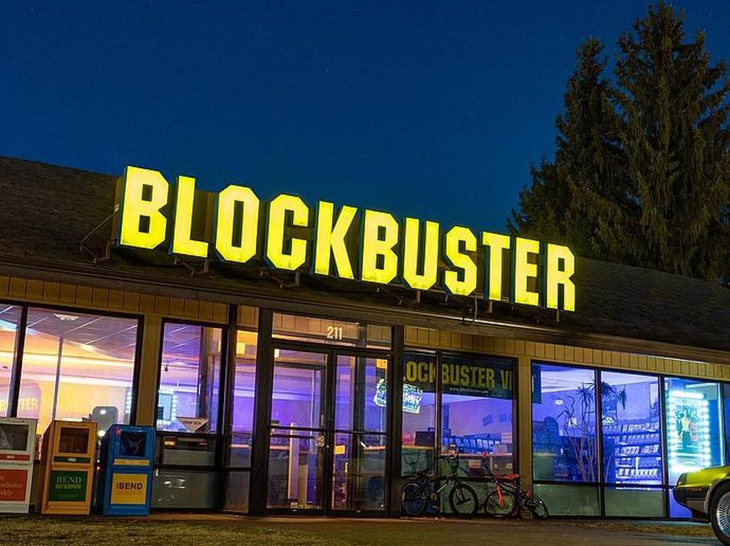 Outlet Blockbuster Terakhir di Dunia Kini Jadi Penginapan