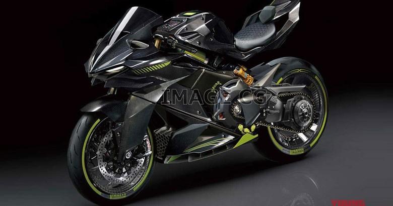 Perkiraan desain motor listrik Kawasaki