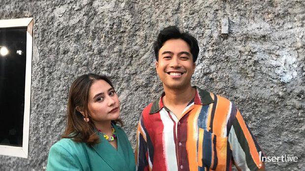 Prilly Latuconsina dan Vidi Aldiano
