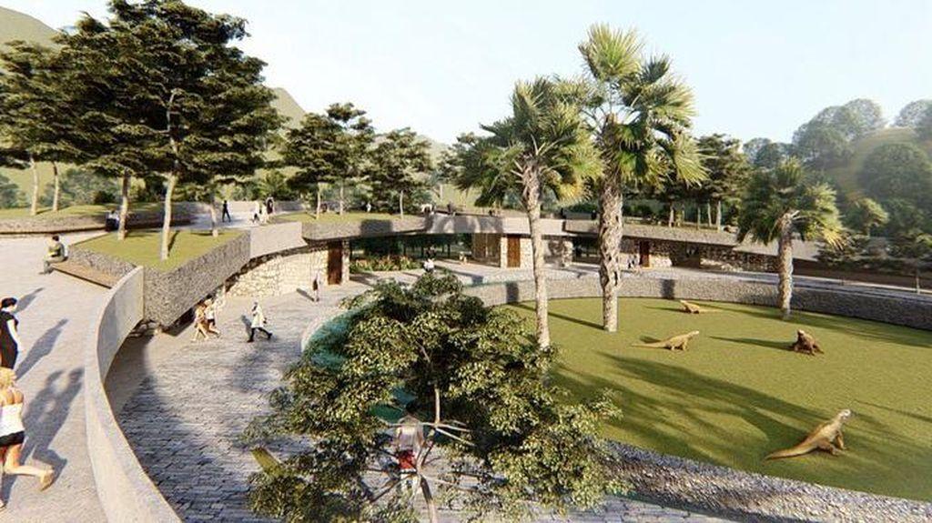 Ini Desain Jurassic Park di Pulau Rinca