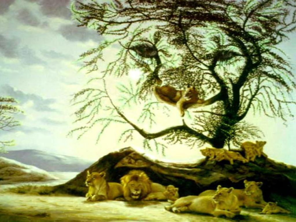 Tes Kepribadian: Ada Berapa Banyak Singa yang Kamu Lihat Dalam Gambar?
