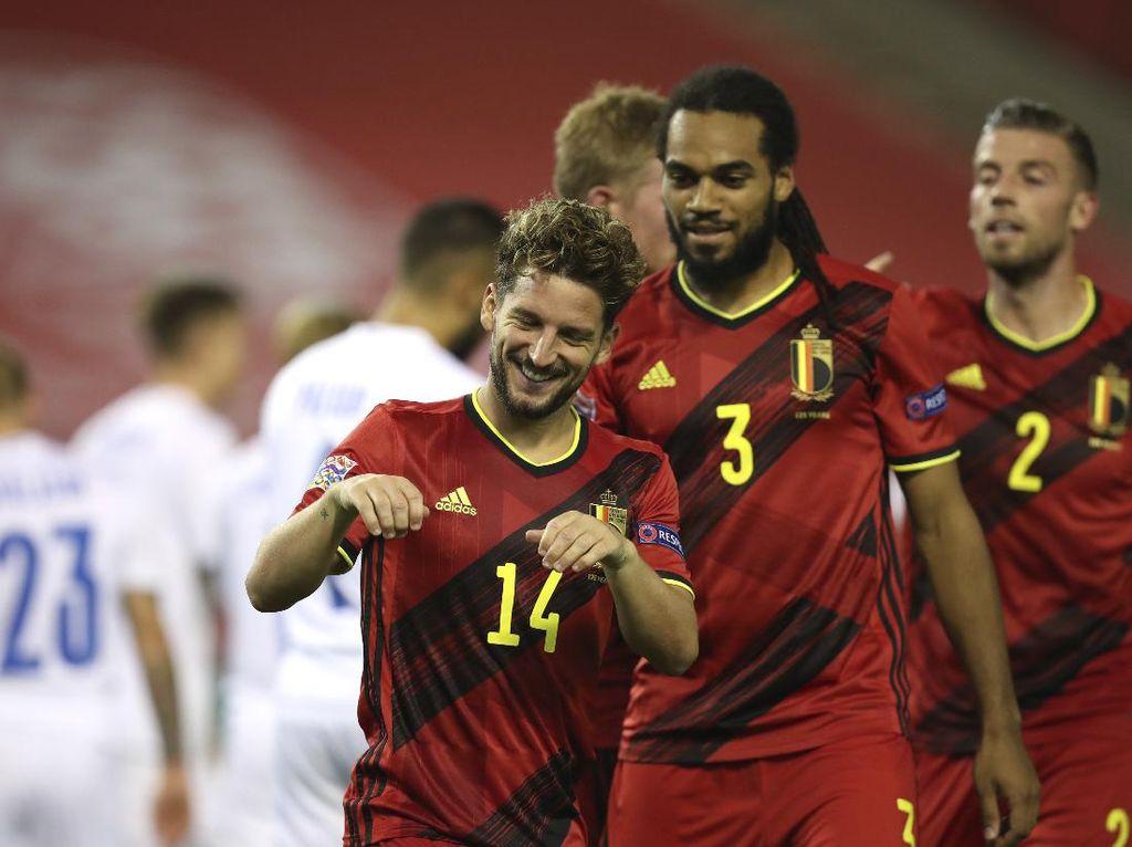 Belgia Vs Islandia: De Rode Duivels Menang 5-1