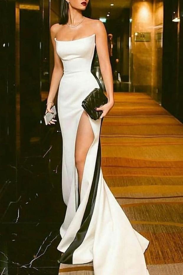 Bodycon strapless dress yang bold dan sexy
