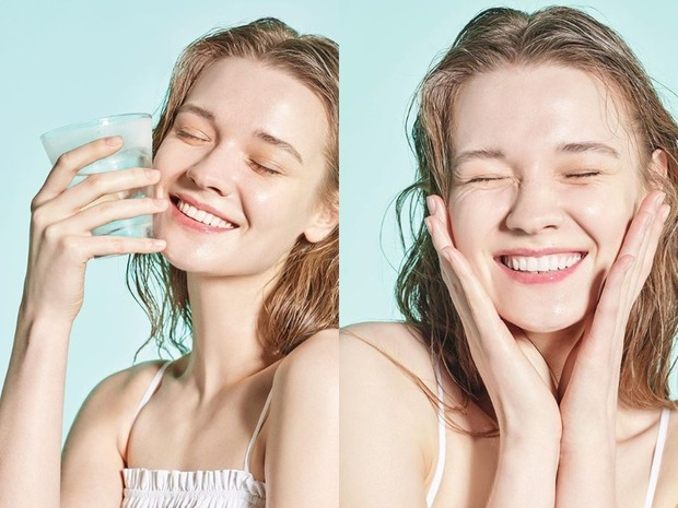 jika terlalu banyak mengaplikasikan produk pada wajah bikin kulit stres, coba cuci muka dengan air saja dan jangan lupa hapus makeup dengan toner glycolic acid