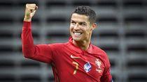 Ronaldo Bikin Portugal Perkasa di Depan Swedia