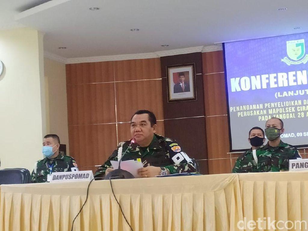 Danpuspomad Jamin Proses Hukum 11 Anggota Pengeroyok Jusni Transparan
