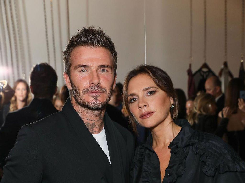 Hindari Lockdown, David Beckham Boyong Keluarga ke Miami