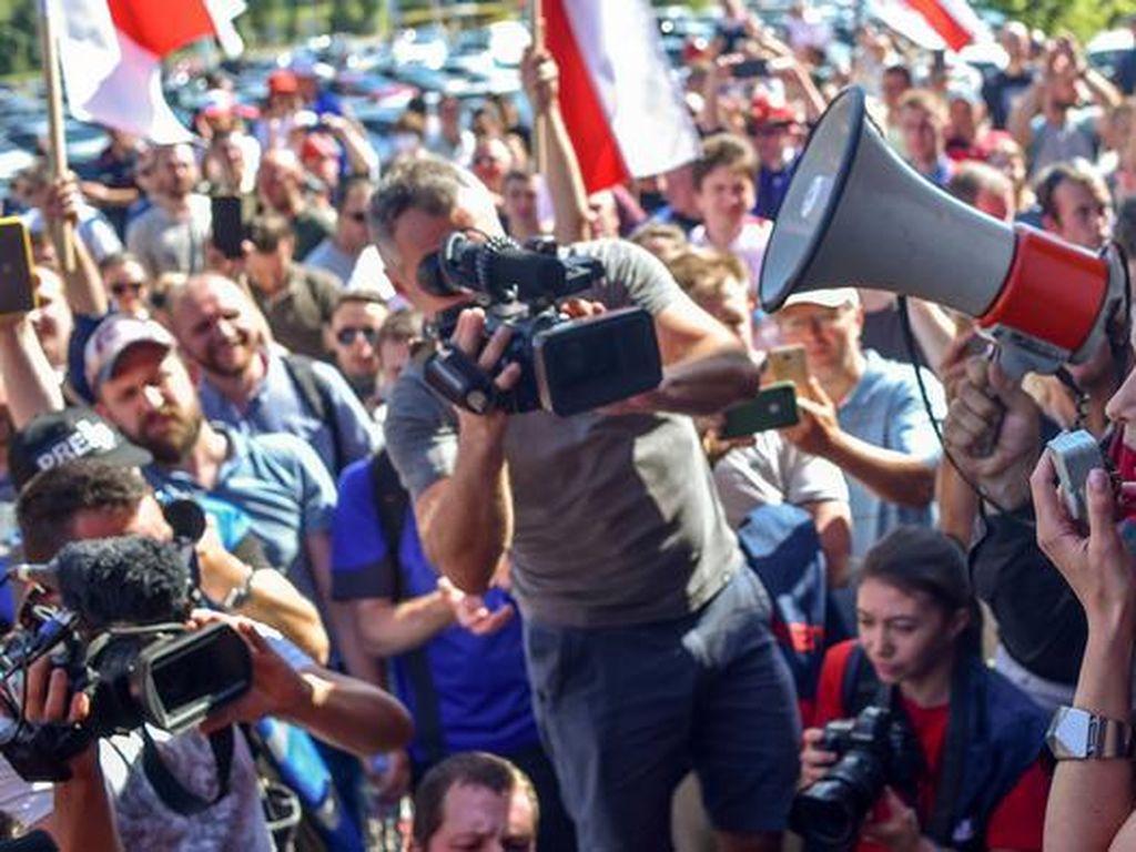 Maria Kolesnikova Ditahan di Belarus Setelah Menolak Diusir ke Ukraina