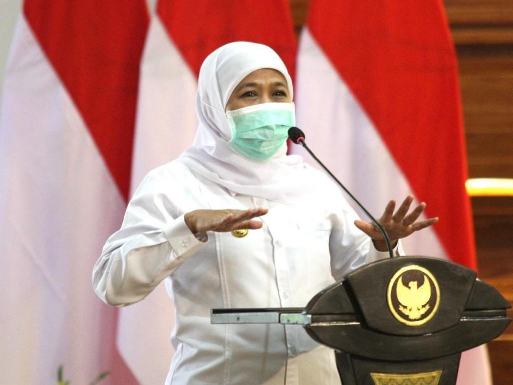 Gubernur Khofifah Kumpulkan Bupati/Wali Kota Bahas Penanganan COVID-19