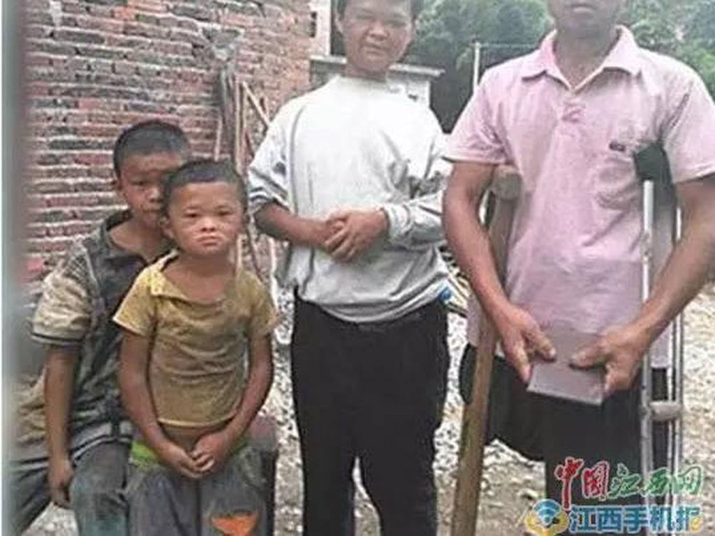 Viral Foto Sedih Masa Kecil Jack Ma, Ini Faktanya