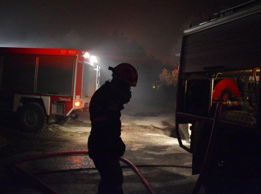 Yunani Kebut Pembangunan Kamp Migran yang Terbakar di Pulau Lesbos