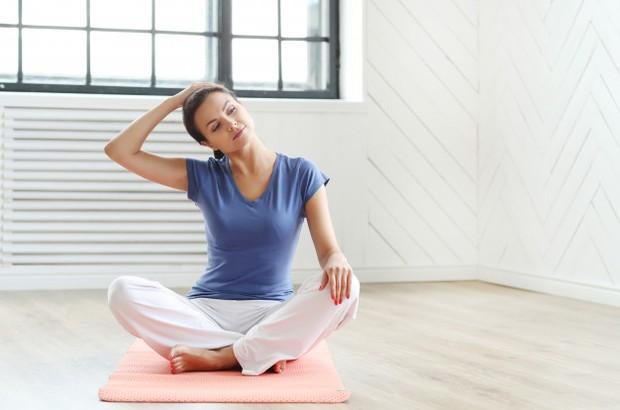 Cara untuk mengatasi punggung dengan memperkuat otot leher