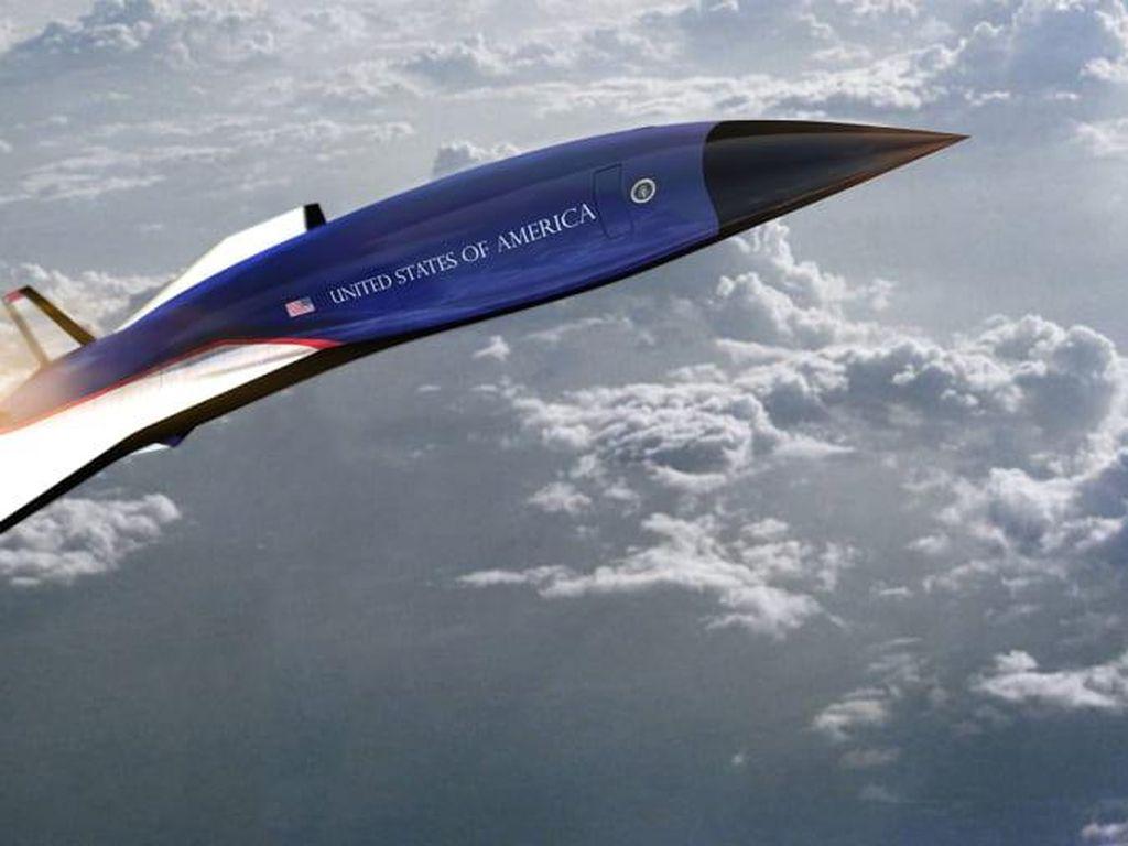 2 Pesawat Konsep Air Force One: Hipersonik dan Supersonik