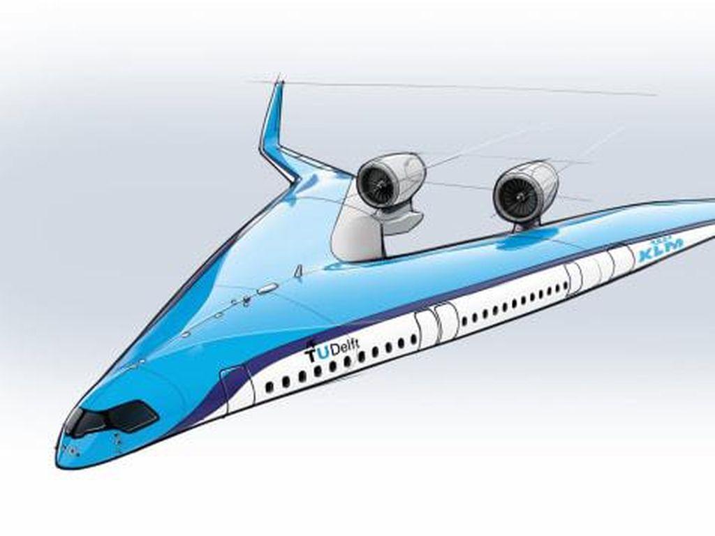 Pesawat Berbentuk V Sukses Terbang Perdana