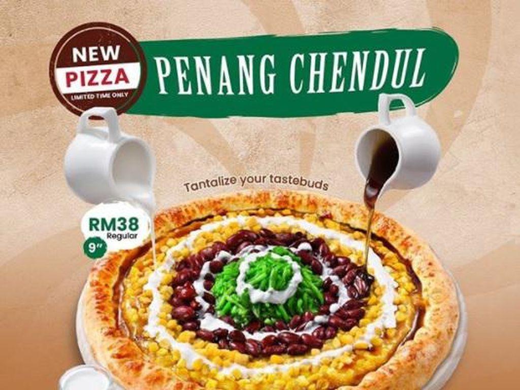 Pizza Topping Cendol yang Kenyal Manis Ini Bikin Penasaran, Mau Coba?
