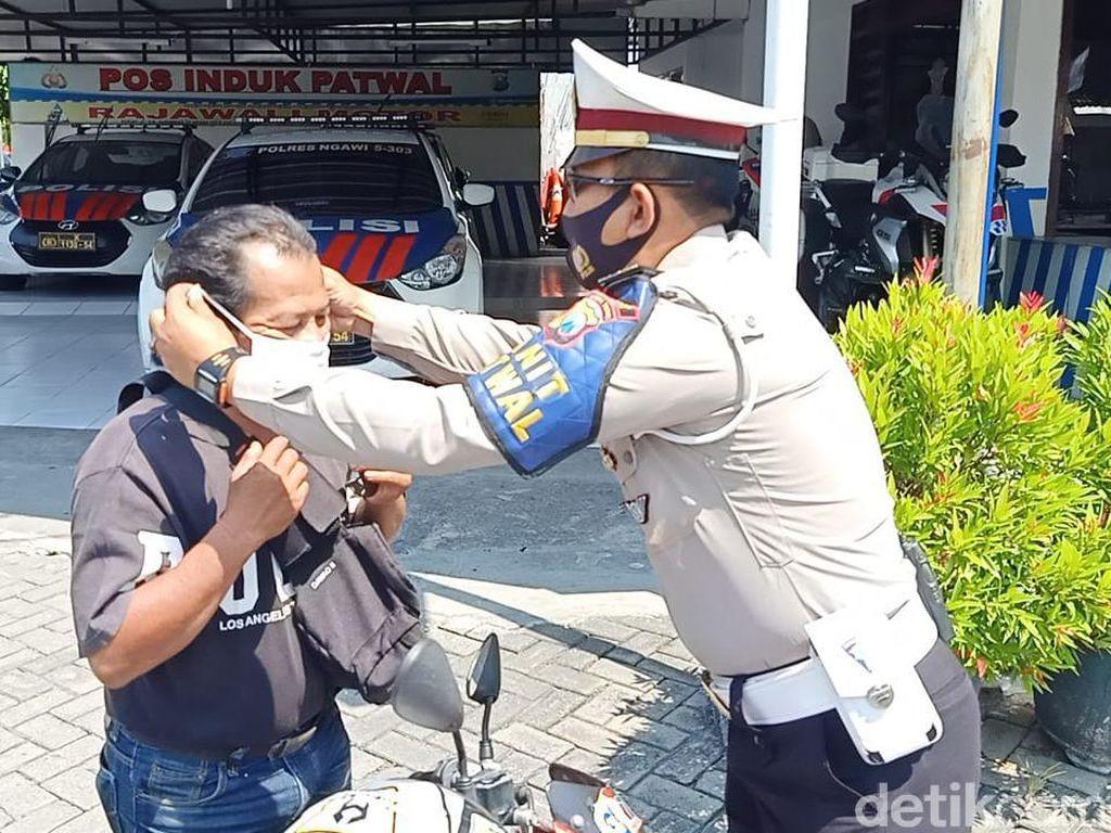 Gerakan Jatim Bermasker, Jalur Perbatasan Jateng Dirazia