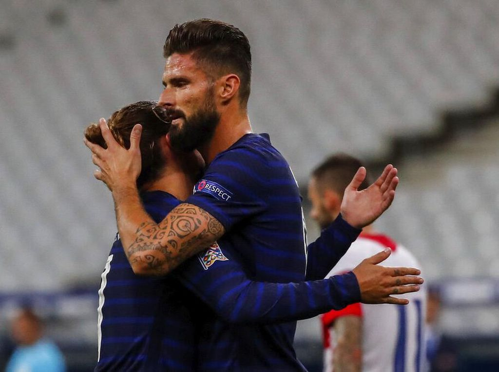 Hasil UEFA Nations League: Prancis Bekuk Kroasia 4-2