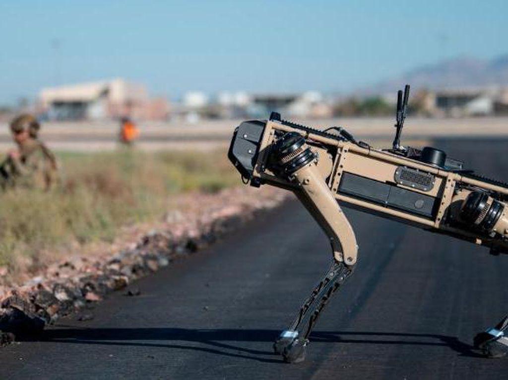 Robot Anjing Bakal Bisa Berpatroli di Angkatan Udara AS