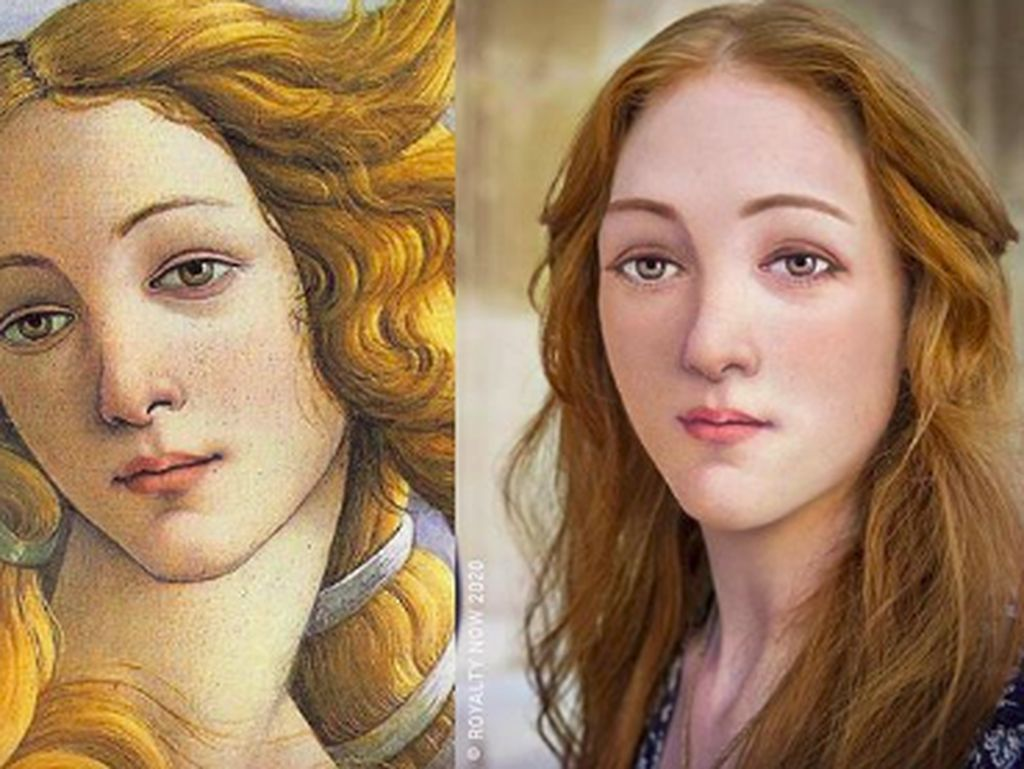 Wajah Cantik dan Ganteng Versi Modern dari Tokoh Sejarah Legendaris