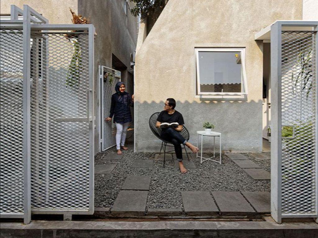 Rumah di Gang Cipulir yang Mendunia Dibangun Pakai Material Murah