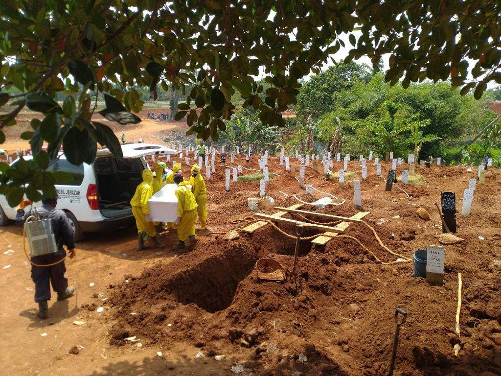 26 Jenazah Corona Akan Dimakamkan di TPU Pondok Ranggon Hari Ini