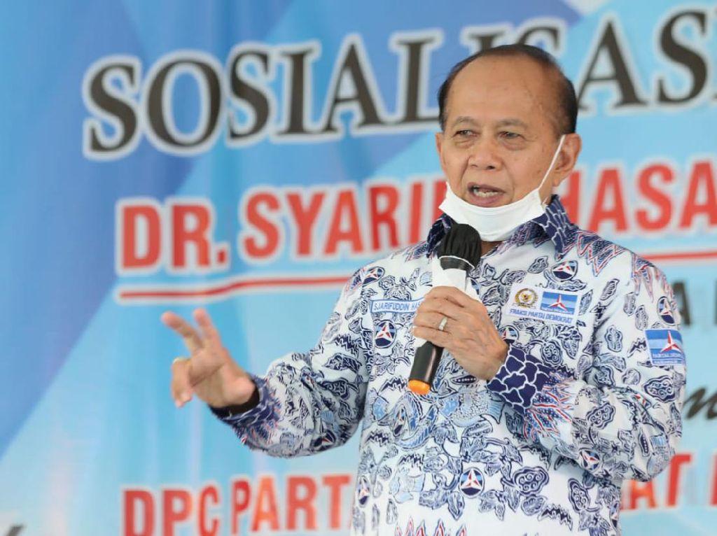 Sosialisasi 4 Pilar di Indramayu, Waket MPR Bicara soal Amandemen UUD