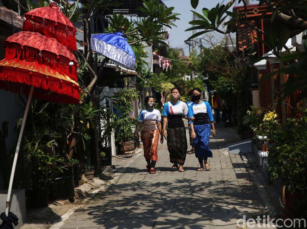 Keren! Ada Kampung Bali di Bekasi