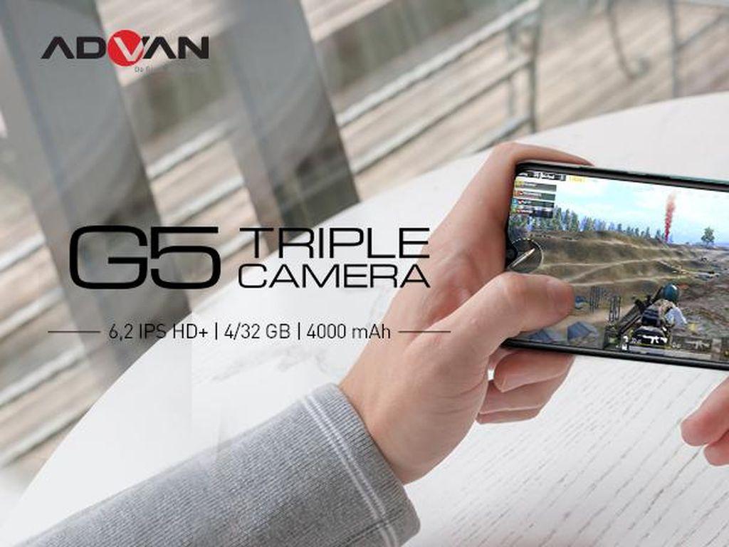 ADVAN G5 Tawarkan Pengalaman Gaming Asyik dengan Desain Apik