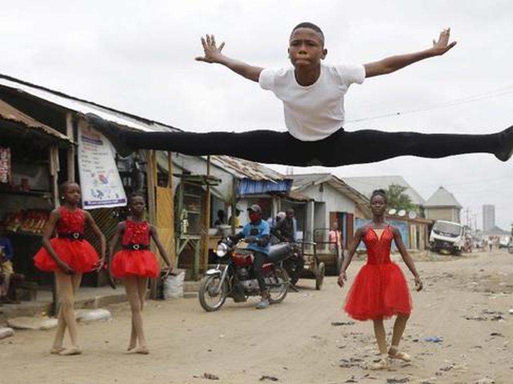 Bocah Nigeria Raih Beasiswa Gegara Video Baletnya Viral