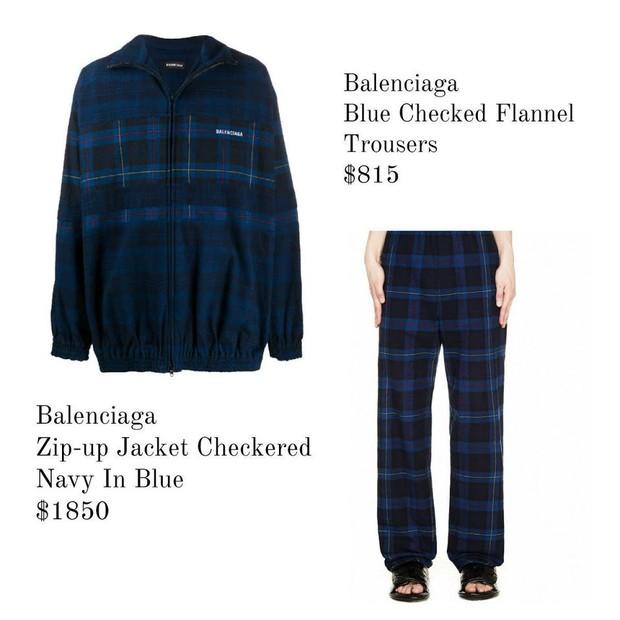 Checkered Balenciaga Set/ Foto: Koreaboo
