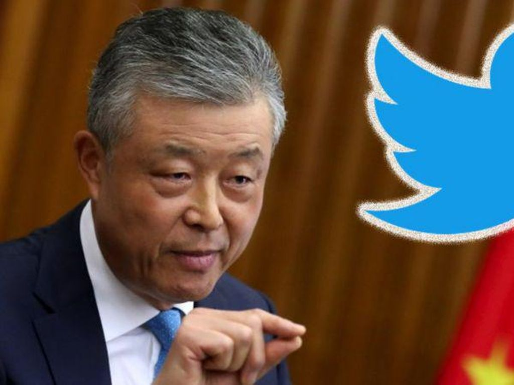 Ups! Duta Besar China Like Video Porno di Twitter