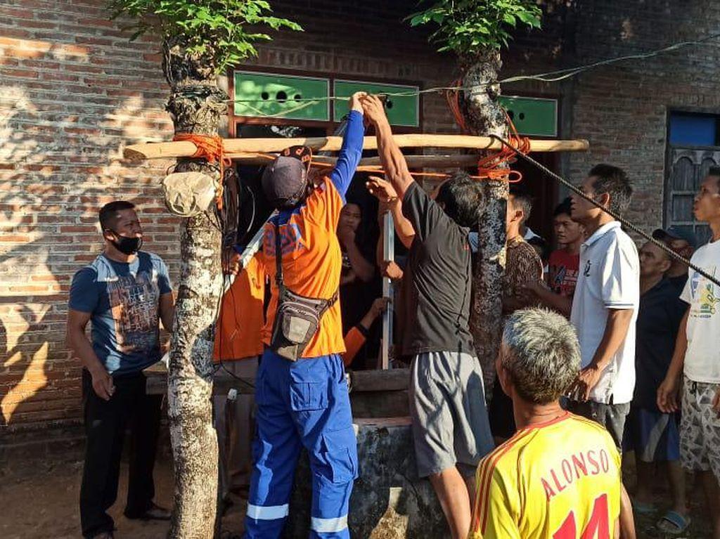 Cek Pompa Macet, Warga Jepara Malah Nemu Orang di Dalam Sumur
