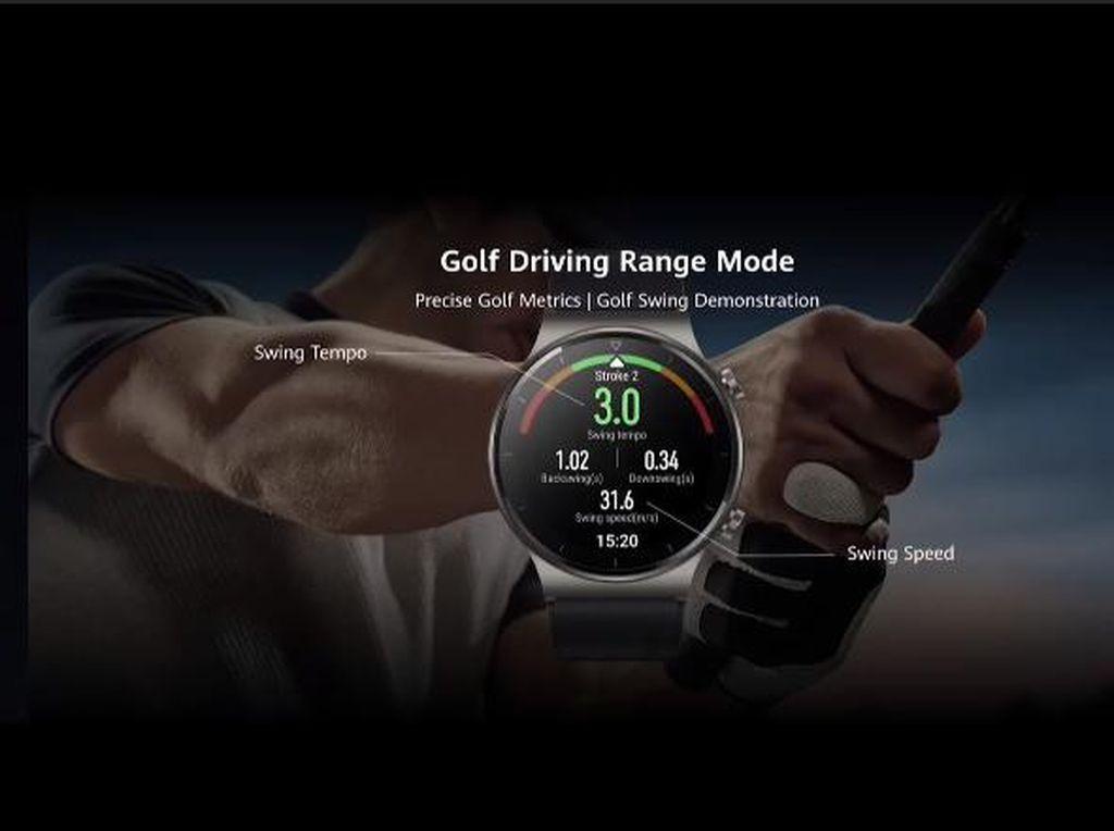 Huawei Watch GT 2 Pro Dirilis Bawa Mode Golf