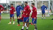 Video: Bertahan di Barcelona, Messi Sudah Terlihat Berlatih Bersama Tim