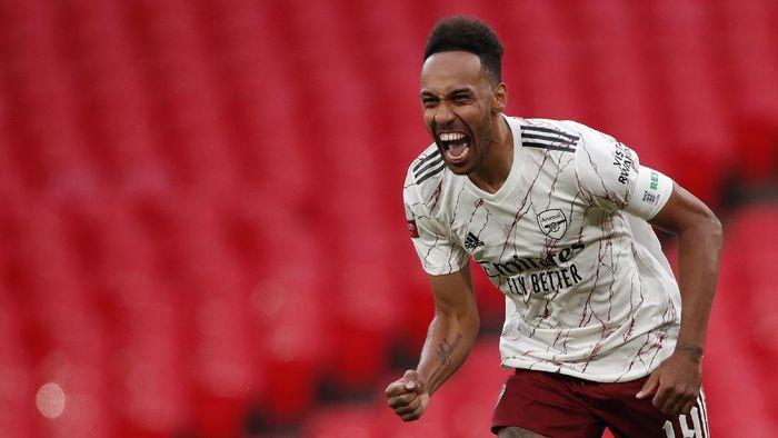 Akhirnya, Aubameyang Perpanjang Kontrak di Arsenal
