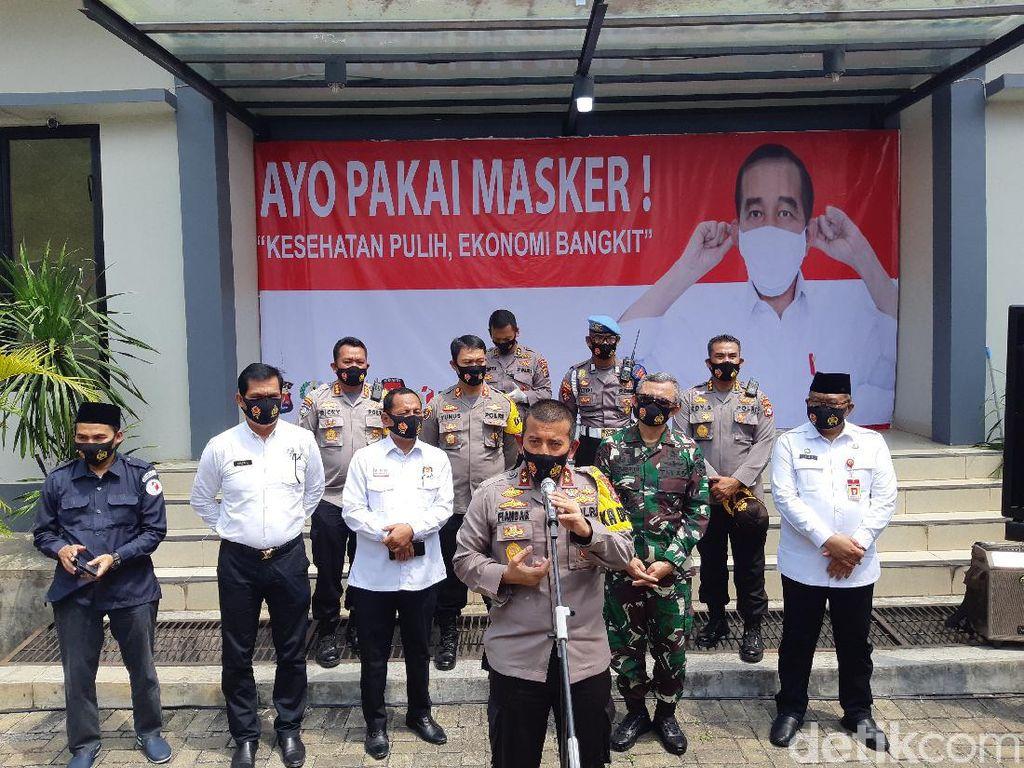 Polda Banten Ancam Bubarkan Kampanye Calon yang Bawa Kerumunan