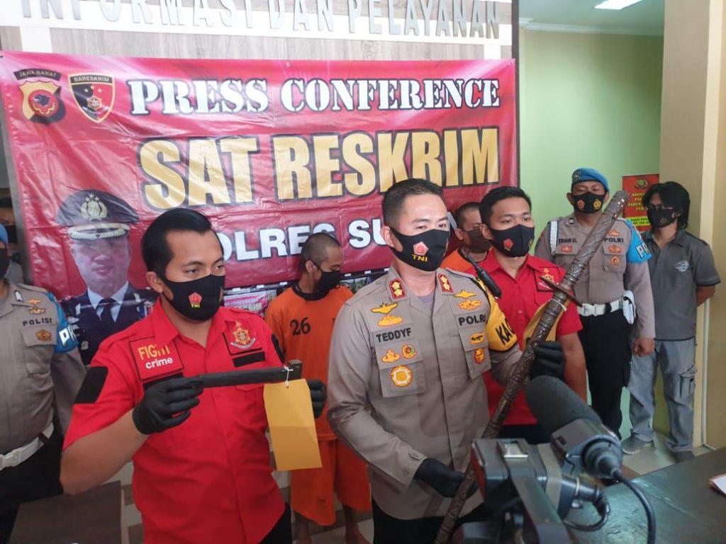 Terlibat Tawuran, Dua Anggota Geng Motor di Subang Ditangkap Polisi
