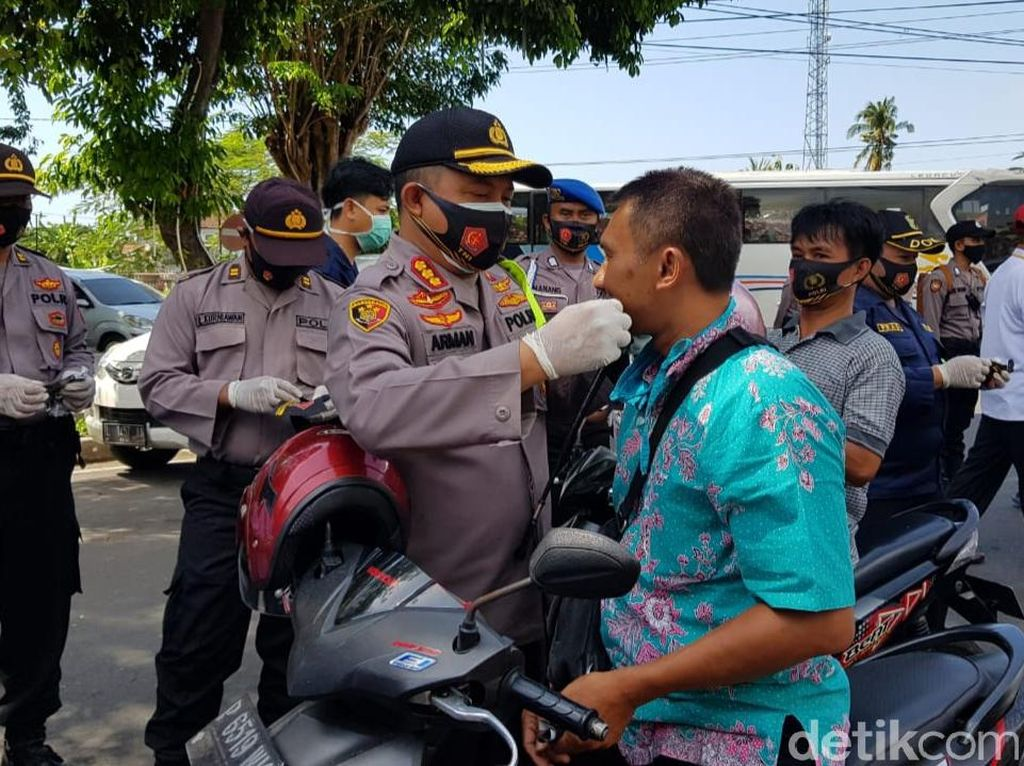 Berkat Operasi Yustisi, Pelanggar Prokes di Banyuwani Jauh Menurun