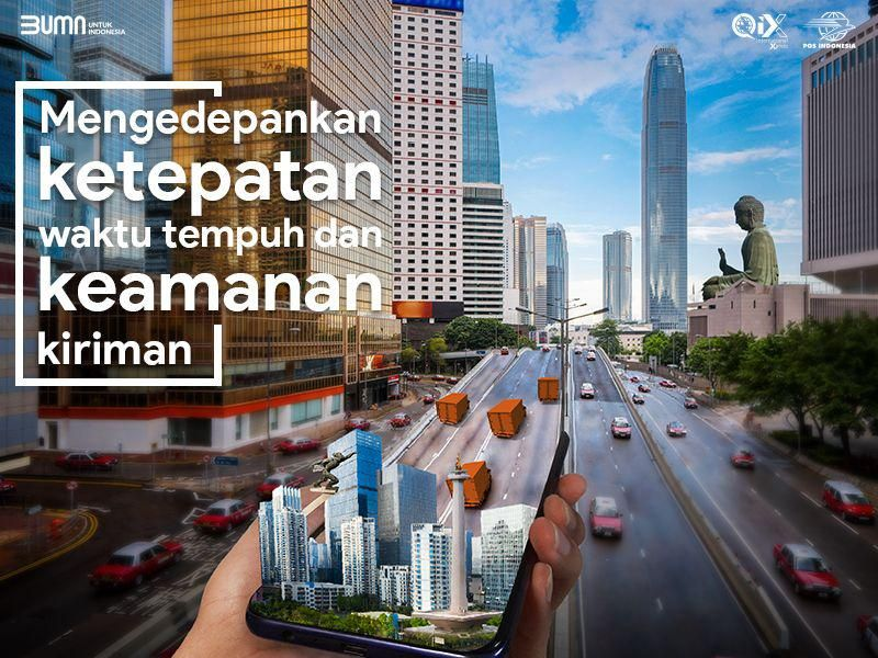 Pos Indonesia Punya Layanan Baru untuk Dalam dan Luar Negeri