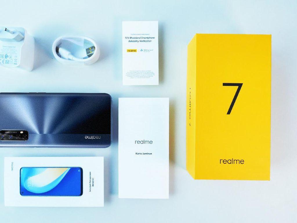 Realme 7 dan Realme 7i Meluncur Sepekan Lagi, Bawa Kamera 64 MP