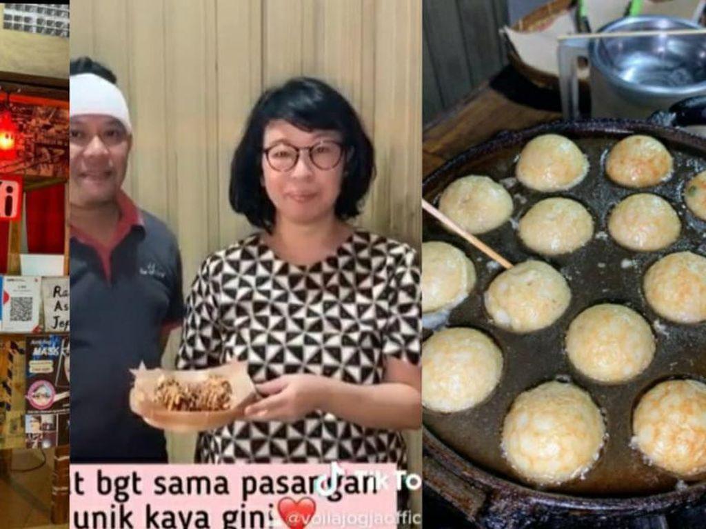 Setelah Solo, di Yogyakarta Juga Ada Penjual Takoyaki Asli Orang Jepang