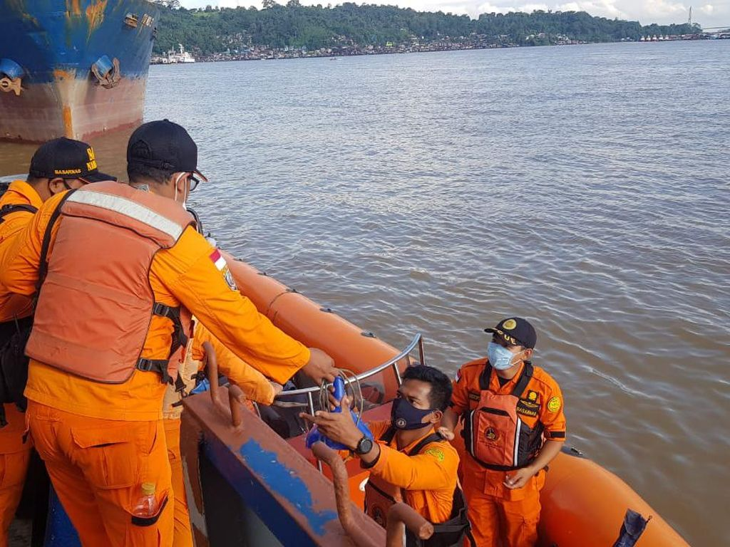 Kapal Muatan Batu Bara Tenggelam di Kaltim, 1 ABK Hilang