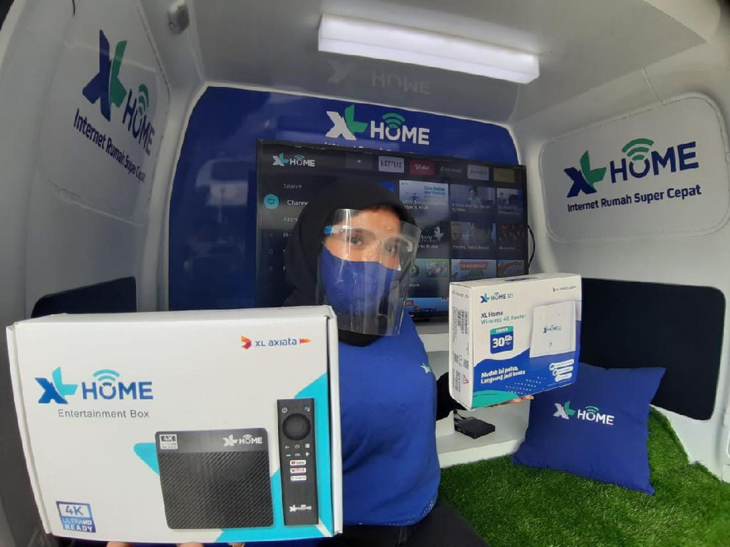 XL Home Hadir di Medan, Kecepatan Internet Bisa Tembus 100 Mbps