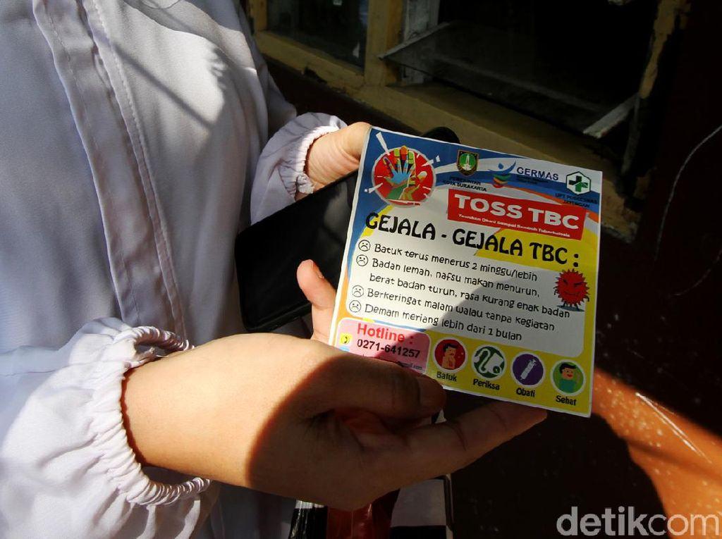 Aksi Sosialisasi Tanggap TBC di Solo