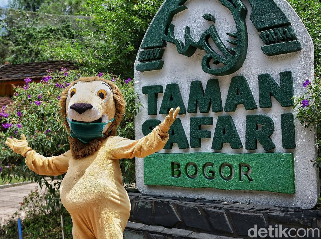Berlibur di Taman Safari Bogor Saat Era New Normal