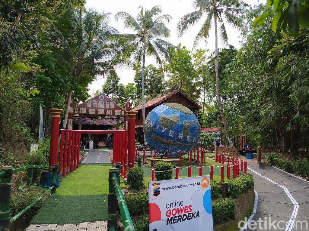 Rupa Desa Bahasa Borobudur yang Lagi Viral