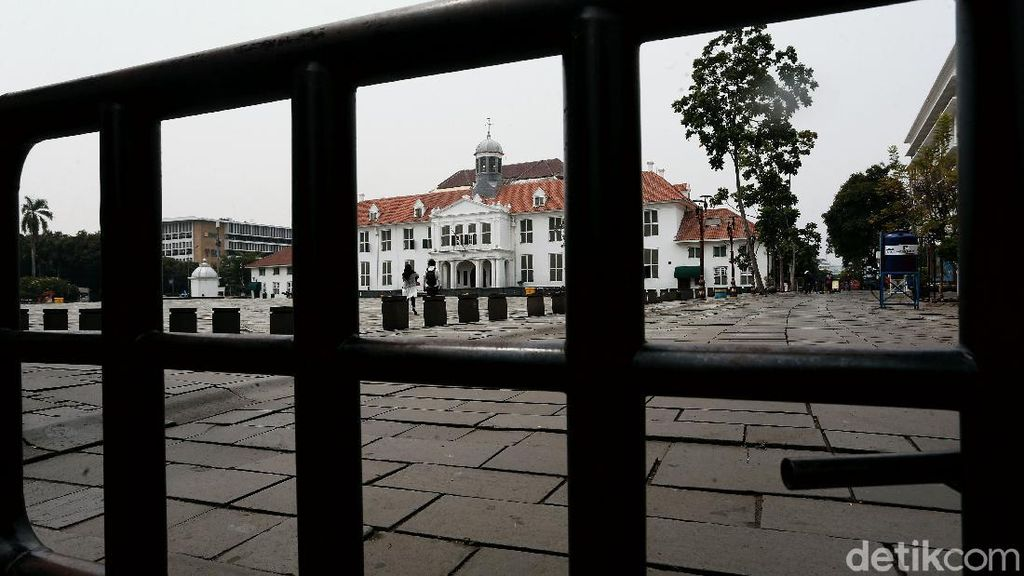 Jakarta Perketat PSBB, Kawasan Kota Tua Ditutup Lagi